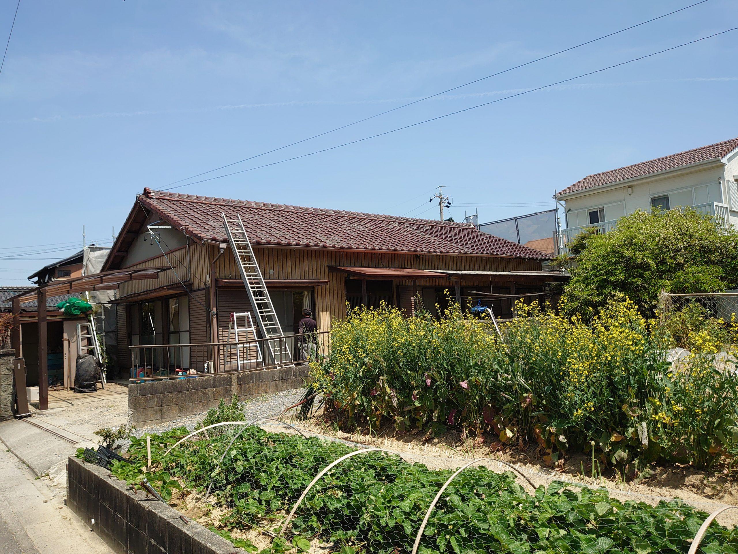 木造平屋住宅解体工事